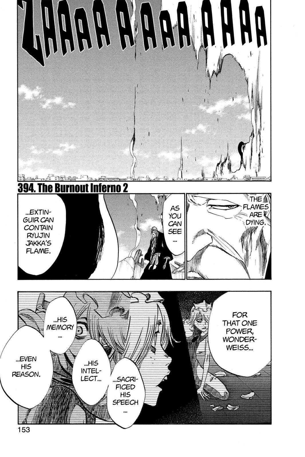 Bleach Chap 394 English Read Manga Online At Holymanga Net