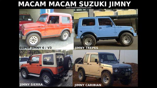 Macam-macam Suzuki Jimny