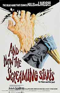 and now the screaming starts / Poster, un film de Roy Ward Baker