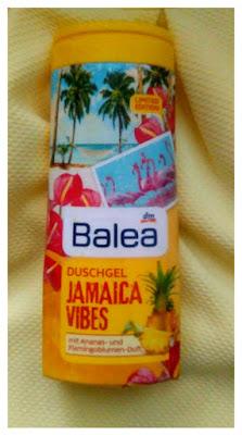 Na Jamajkę z Balea?:) żel pod prysznic Jamaica Vibes-recenzja #43 LIMITOWANA EDYCJA WIOSENNO-LETNIA 2017