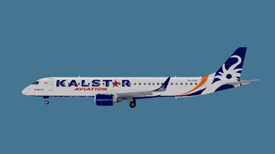 [AI] Kalstar Aviation Embraer E-195