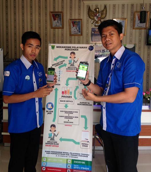 Keren! DPMPTP Padangpariaman Launching Pelayanan Berbasis Android