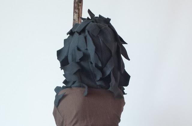 Troll Costume - hair