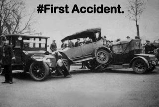 First Car Accident
