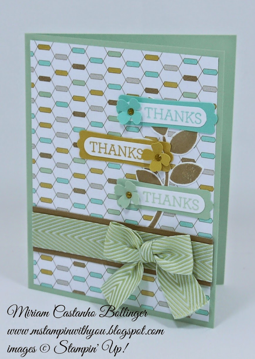 Miriam Castanho Bollinger, mstampinwithyou, stampin up, demonstrator, ppa 233, lullaby dsp, crazy about you, modern label punch, word window, itty bitty accents punch, su