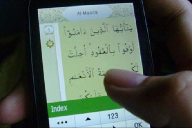 Membaca Al Qur'an Di Handphone, Haruskah Bersuci Dahulu?