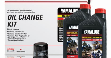Yamaha Grizzly 660 >> YamahaGenuineParts.com: Grizzly 700 Oil Change Kit in a Box