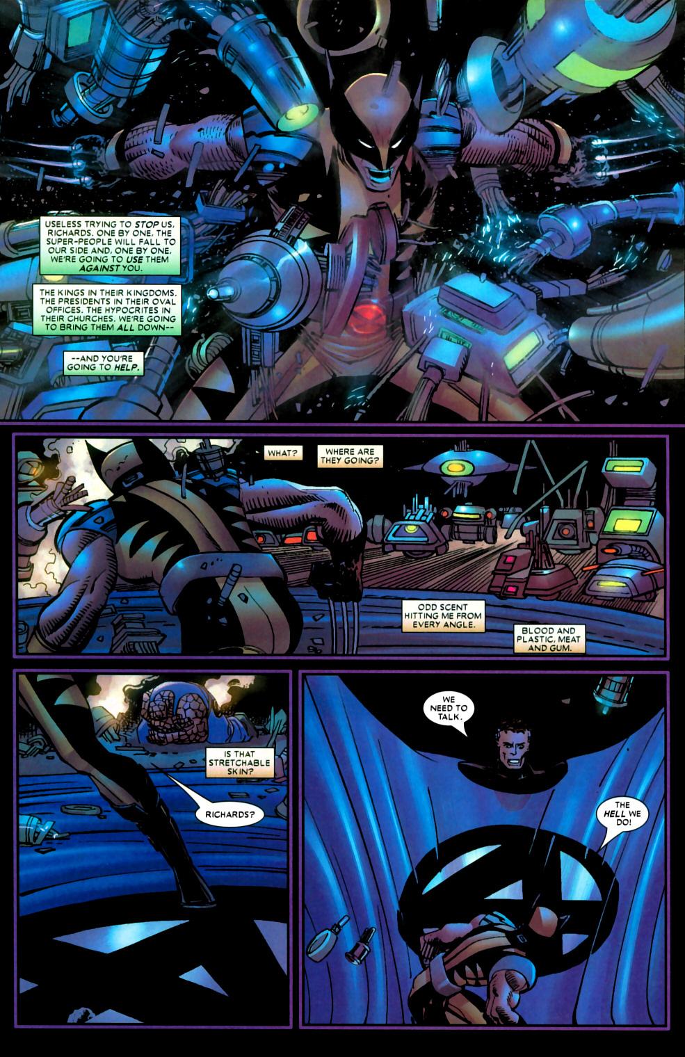 Read online Wolverine (2003) comic -  Issue #22 - 15