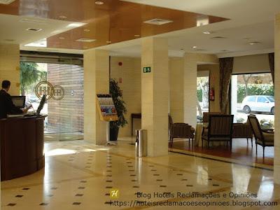 Hotel Osuna-hall recepcao-https://hoteisreclamacoeseopinioes.blogspot.com