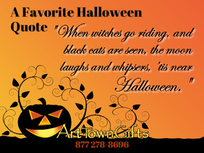 Witches Halloween Sign Quote