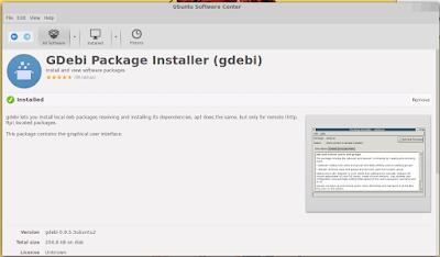 Cara Install Aplikasi GDebi Pada Ubuntu