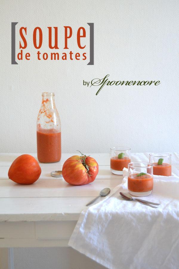 soupe froide tomates spoonencore