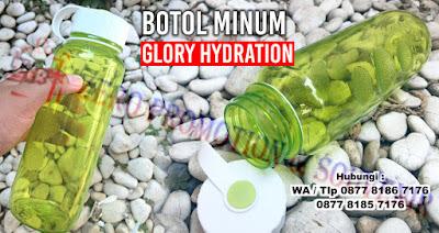 Souvenir Promosi Botol Minum Glory Hydration, Barang Promosi Tumbler Glory Hydration Water Bottle, Souvenir Botol minum Glory Hydration