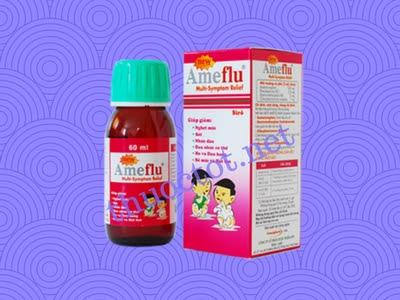 Siro Ameflu đa triệu chứng cảm cúm (Ameflu multi symtom relief)