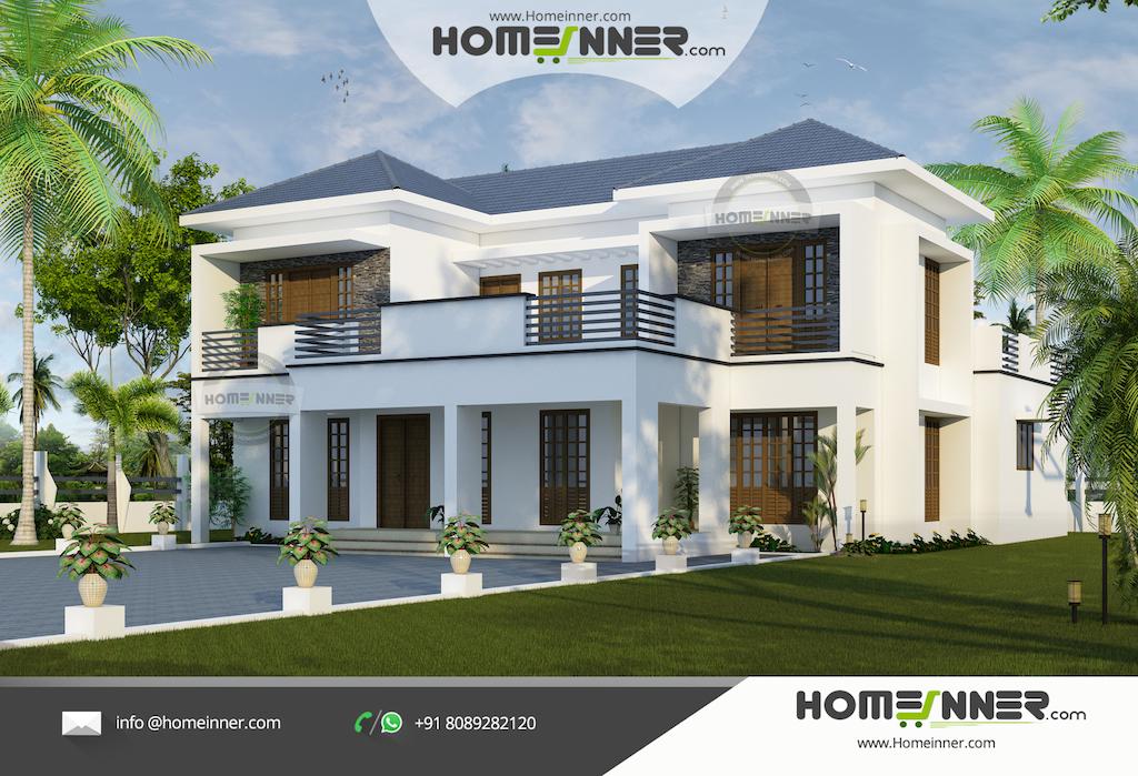Modern Luxury Villa Kerala House Design in 2705 sqft