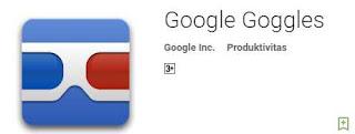 aplikasi google goggles