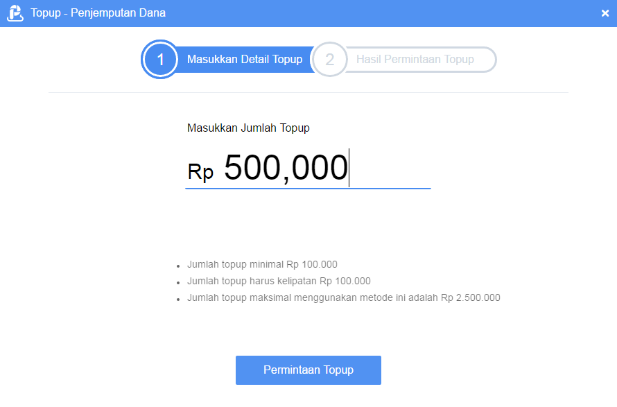 Cara Tambah Saldo (Top Up) di AirPay Indonesia via Penjemputan Dana