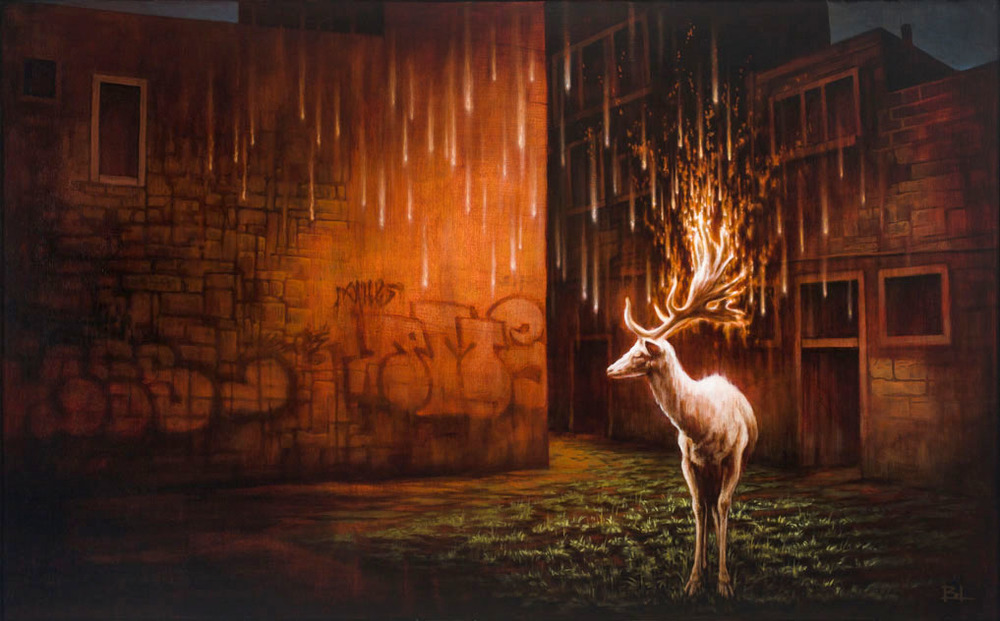 16-The-White-Stag-Brin-Levinson-Paintings-of-Nature-Reclaiming-Cities-www-designstack-co