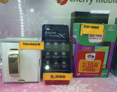 Buy Cherry Mobile Flare X and Get Free Cherry Fit or CM Comet