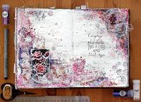 http://blogmadevselenaya.blogspot.ru/2016/02/art-journal-page-snow-rose.html