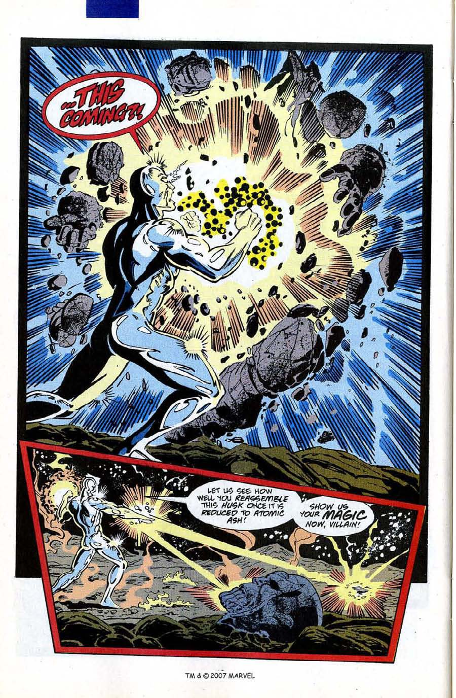 Read online Silver Surfer (1987) comic -  Issue #50 - 44
