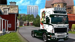 Poison Ivy skin for Scania RJL