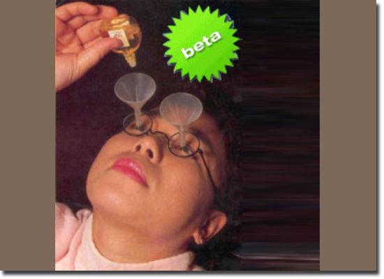 Invenções Bizarras - Pinga Colírio