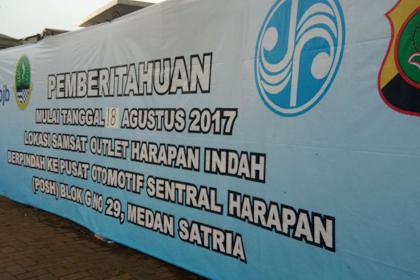 Samsat Outlet Harapan Indah Pindah Lokasi