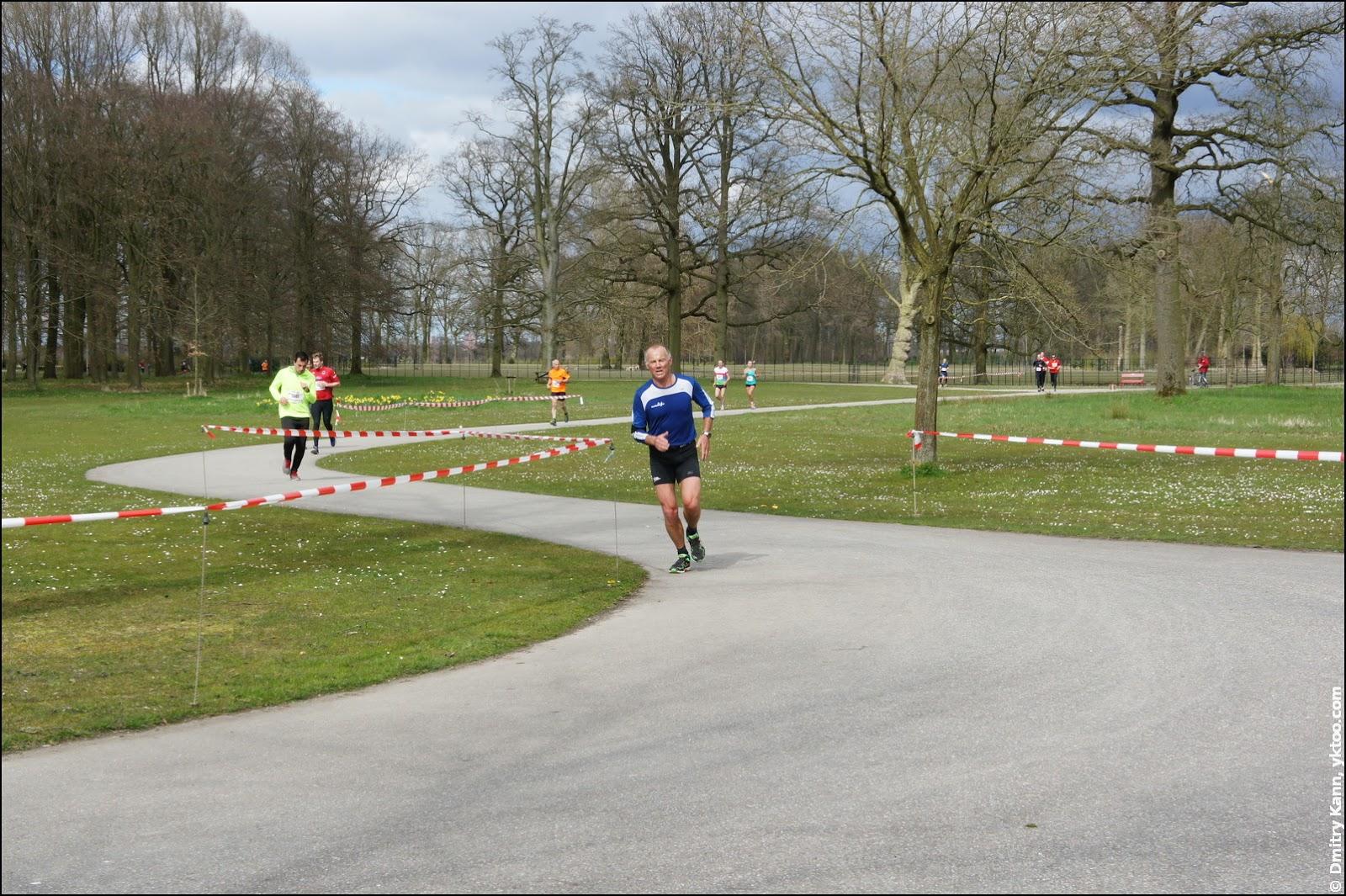 Парк замка De Haar.