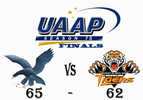 ADMU Blue Eagles is UAAP 75 Champion