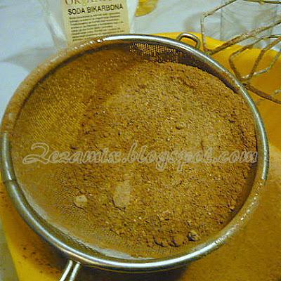 priprema kolača od rogača i heljdinog brašna