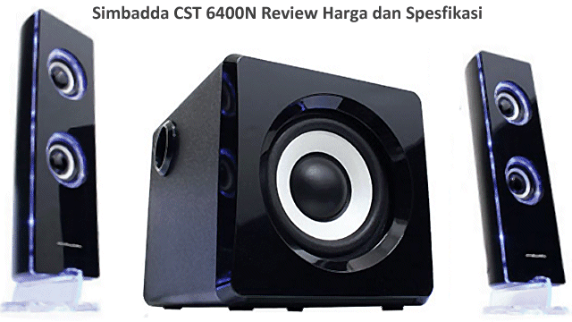 Speaker Simbadda CST 6400N Aktif