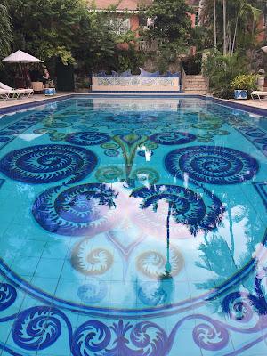 Pool at Graycliff in Nassau, Bahamas - curiousadventurer.blogspot.com