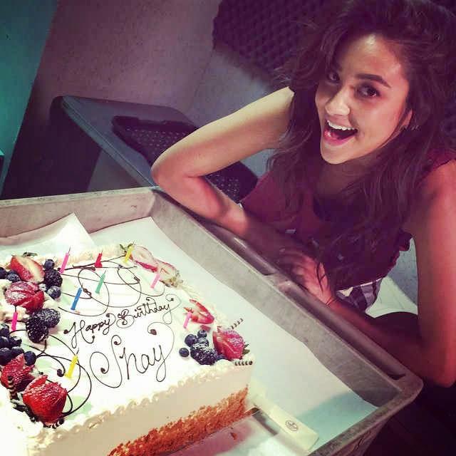 Shay Mitchell 28th Birthday Cake