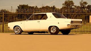 1966 Dodge D-Dart GT Sports Coupe Rear Side