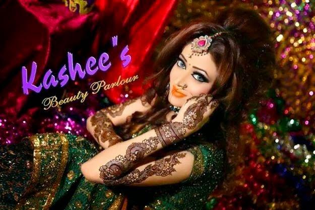 Mehndi Makeup Karachi : Fashionzii: kashee's beauty parlour mehndi designs
