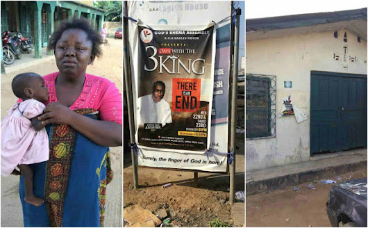 Woman abandons child after being told by her pastor that she's a snake (Photos)