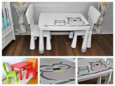 [IKEA HACK] Jak przerobić stolik Ikea Mammut?