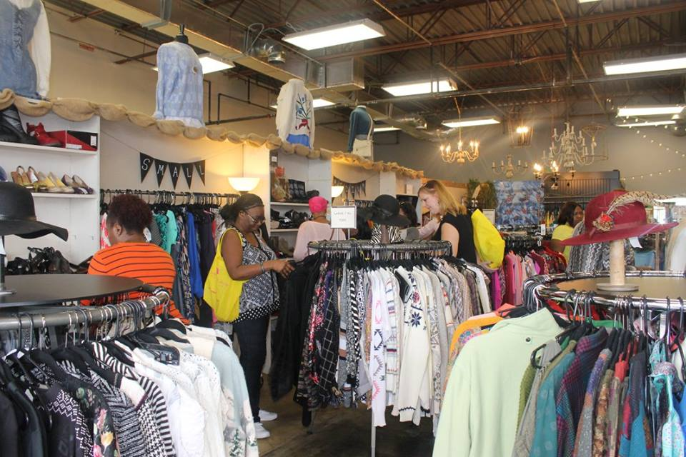 Two Stylish Kays Thrift Shopping Give The Gift Of Thrift