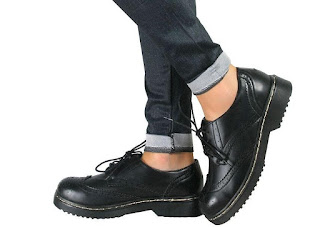 Patent Leather Oxfords Formal Shoes for Women