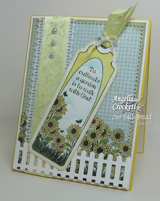 "Our Daily Bread designs ""Bookmarks - Trees"" Designer Angie Crockett"