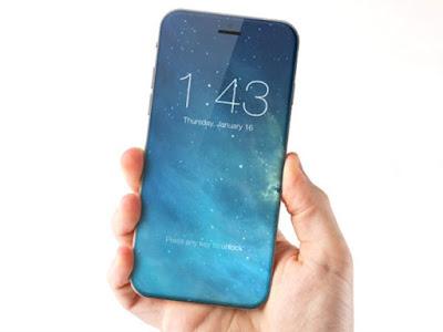 Según sostienen algunos analistas, el iPhone 8 podría contar con una pantalla más grande, que se extendería de lado a lado del teléfono y también con un botón 'home' integrado en la pantalla.