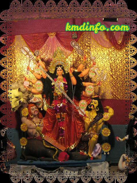 Jambari Sarbojanin Durga Puja Protima