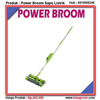 Sapu Elektrik Otomatis Power Broom Bolde