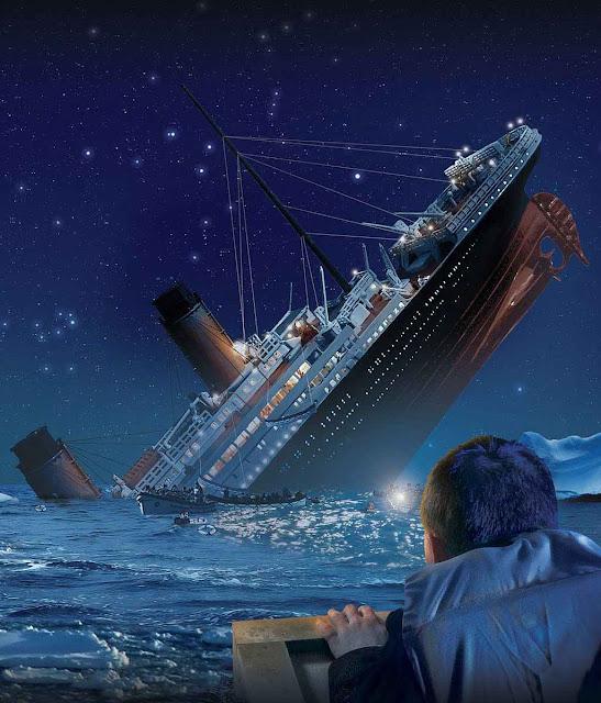 É o Titanic que afunda? Não!, é a economia russa!