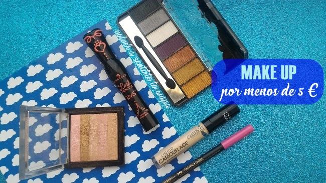 5 productos beauty por menos de 5 €