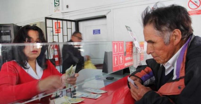 PENSIÓN 65: Agencias del Banco de la Nación atienden desde las 07:00 horas a beneficiarios del programa social - www.pension65.gob.pe