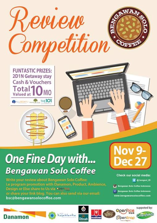 Kuis Berhadiah 5 Undangan Gathering Danamon Coffee For Free