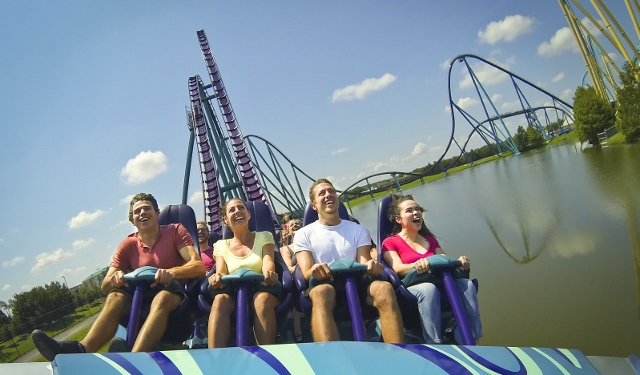 Mako, a new high-speed roller coaster, opens at SeaWorld Orlando