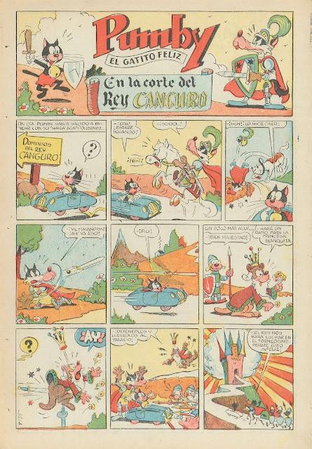 Página 1 En la Corte del Rey Canguro (Pumby nº 7, 13 de Agosto de 1955)